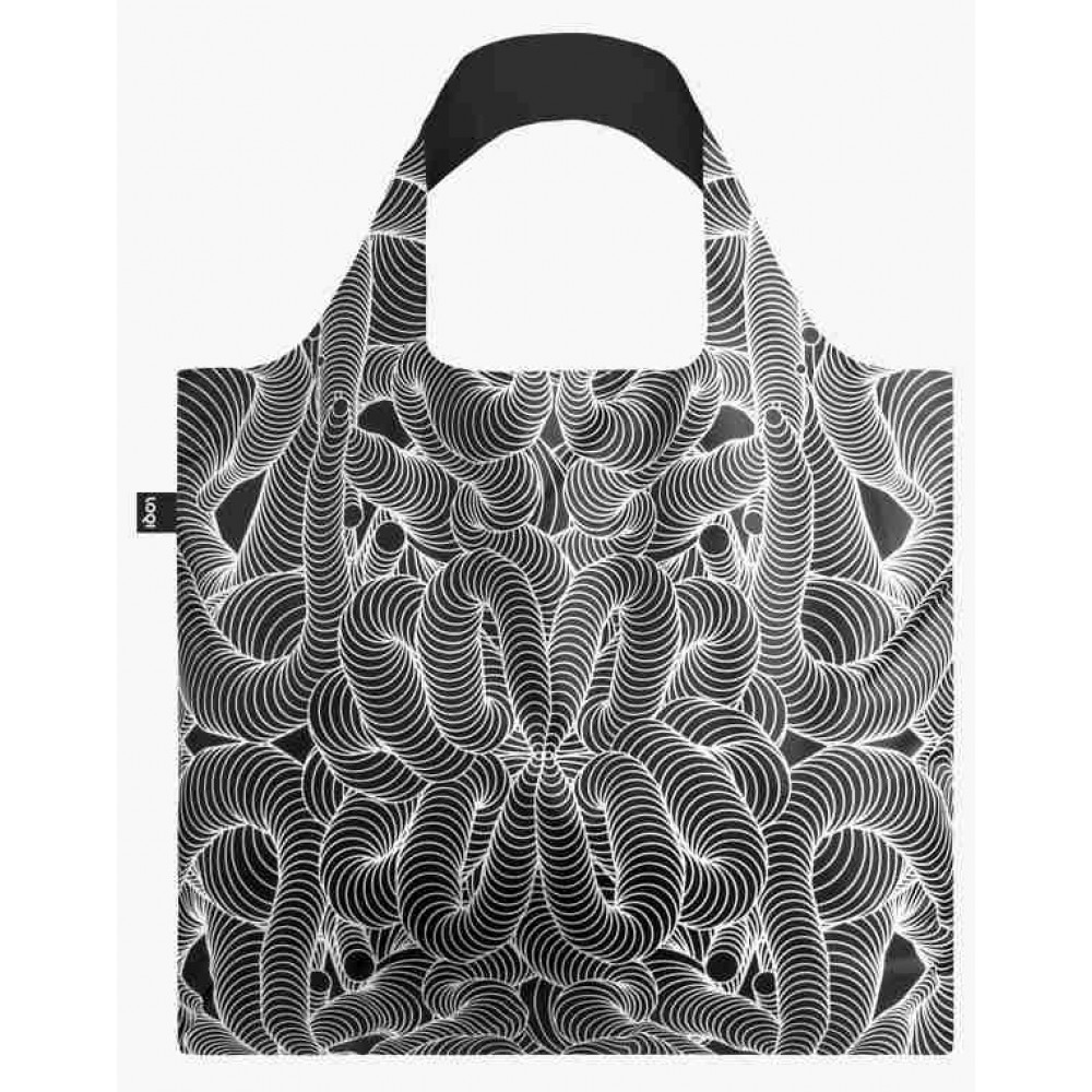 LOQI zložljiva vrečka Sagmeister & Walsh, Beauty Pattern