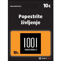 Darilni bon 1001 dar € 10