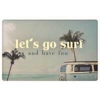 Zaščita kartic pred RFID skeniranjem, Let's go surf