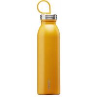 Kovinska steklenička za vodo Chilled z vakuumsko izolacijo, rumena