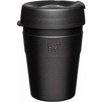 Keepcup kovinski termo lonček Thermal Black, 340 ml