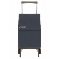 Zložljiv nakupovalni voziček Plegamatic Original MF, temno siv