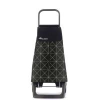 Nakupovalni voziček Baby Star Joy-1800, črn z belim vzorcem