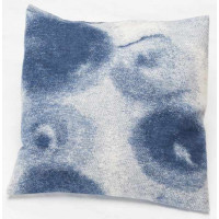 Prevleka Silvretta 50 x 50 cm, krogi - modra