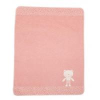 Odeja Juwel 70 x 90 cm, medvedek - roza