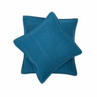Prevleka Sylt 50 x 50 cm, modra - enobarvna
