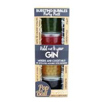 Sadni mehurčki za gin & tonic Party Pack (jabolko, jagoda, limona, borovnica)