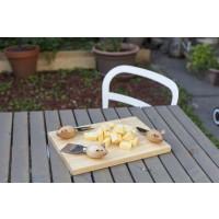 Set za sir, 3 slepe miške (deska in 3 pripomočki)