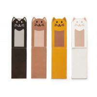 Set 4 magnetnih označevalcev strani, mačke