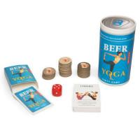 Pivska igra Beer Yoga