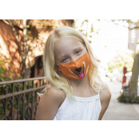 Otroška zaščitna maska, kuža
