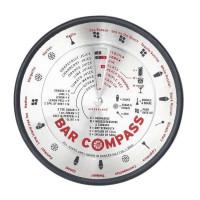 Vrtljivi pripomoček z recepti za cocktaile Bar Compass