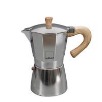 Kafetiera Venezia za 9 skodelic kave, primerna za indukcijo, aluminij