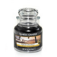 Dišeča sveča yankee candle, majhna - black coconut