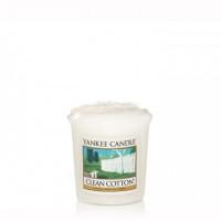 Dišeča svečka Yankee Candle - Clean Cotton