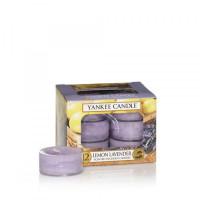 Dišeče čajne lučke Yankee Candle, 12 kosov - Lemon Lavander