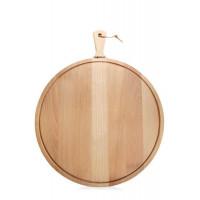Deska iz bukovega lesa Amigo, premer 23,4 cm