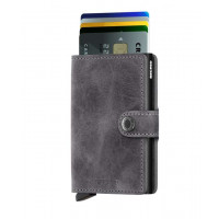 Denarnica Miniwallet Original, vintage sivo-črna