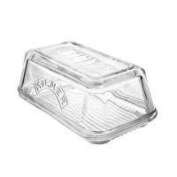 Steklena posodica za maslo