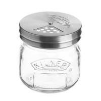 Kozarec s pokrovom za posipanje Kilner 0,25l