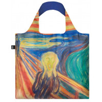 LOQI zložljiva vrečka Edvard Munch, The scream bag
