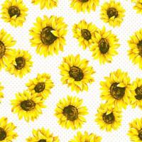 Serviete, cvetovi sončnic