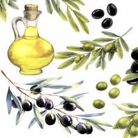 Serviete, olive