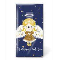 Papirnati robčki, božični angel