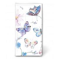 Papirnati robčki, barviti metulji