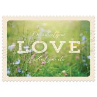Čestitka – kartica, Do what you love