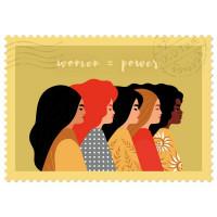 Čestitka – kartica, Women