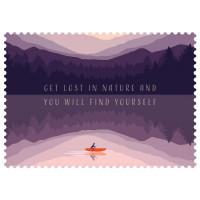 Čestitka – kartica, Get lost in nature