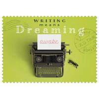 Čestitka – kartica, Writing