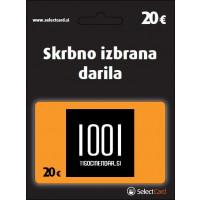 Darilni bon 1001 dar € 20