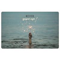 Zaščita kartic pred RFID skeniranjem, Never give up