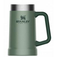 Kovinski lonček za pivo z dvojnimi stenami Stanley Adventure 0,70 l, zelen