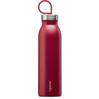 Kovinska steklenička za vodo Chilled z vakuumsko izolacijo, rdeča