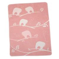 Odeja Juwel 70 x 90 cm, lenivci - roza
