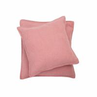 Prevleka Sylt 50 x 50 cm, roza - enobarvna