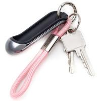 Obesek Safety Touch, svetlo roza
