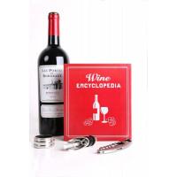Mala vinska enciklopedija (set 3 pripomočkov za vino)
