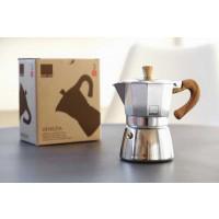 Kafetiera Venezia za 3 skodelice kave primerna za indukcijo, aluminij