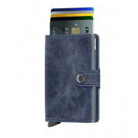 Denarnica Miniwallet Original, vintage modra
