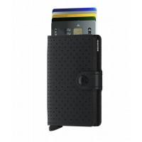 Denarnica Miniwallet Original, perforirana črna