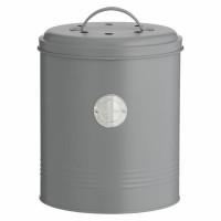 Kompostnik Caddy 2,46 l, siv