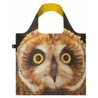 LOQI zložljiva vrečka National Geographic, Short-eared Owl