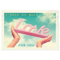 Čestitka – kartica, Love Hands