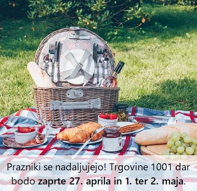 Ugodno: košare za piknik -30 %